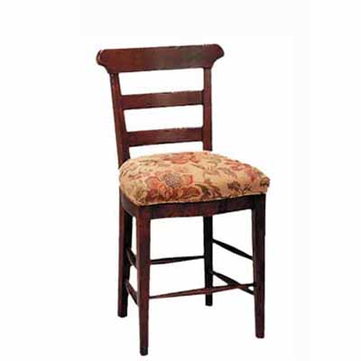 12824/U Harvest Upholstered Seat Barstool (Counter Height)