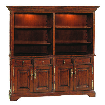 55767 English Double Bookcase