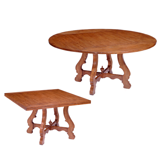 74665 Montecito Square to Round Pedestal Table