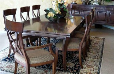 Veranda Draw Top Dining Table
