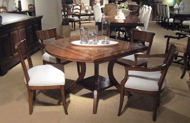 Veranda Square to Round Dining Table