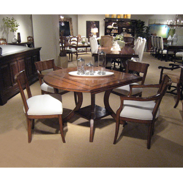 Veranda Square To Round Dining Table - Fremarc dining table