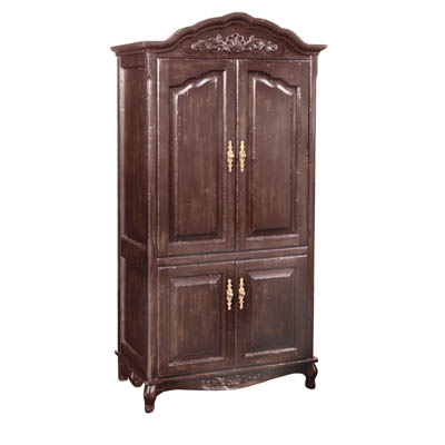 192342 Country French Armoire
