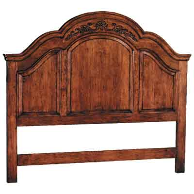 40778 Carved Queen Headboard