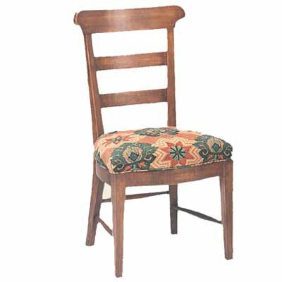 12800/U Harvest Upholstered Seat Side Chair