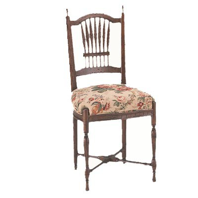 10400/U Wheat Upholstered Seat Side Chair