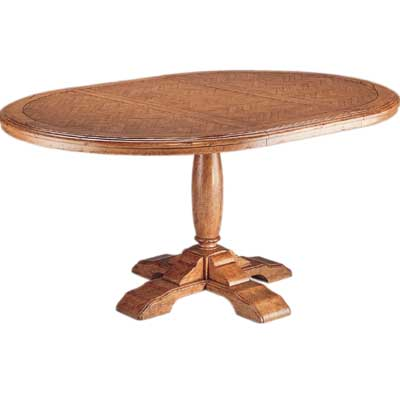 54336 Pedestal Game Table