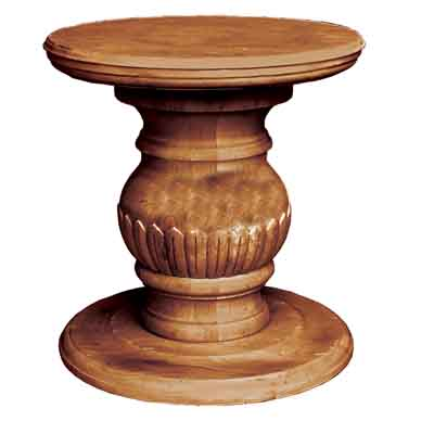 66000 Carved Pedestal – Base Only