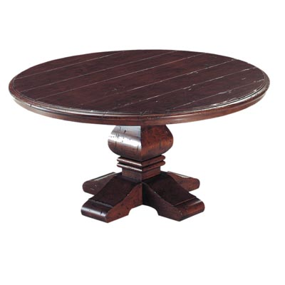 190144 Round Pedestal Cocktail Table