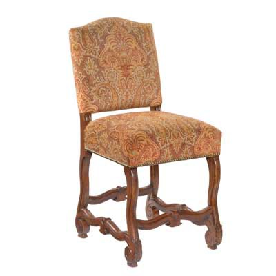 13424 Carved Provence Barstool (Counter Height)