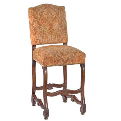 13430 Carved Provence Barstool (Bar Height)