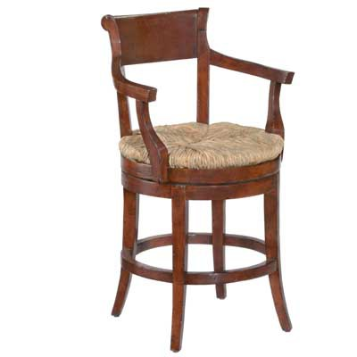 14624 Veranda Rush Seat Barstool (Counter Height)
