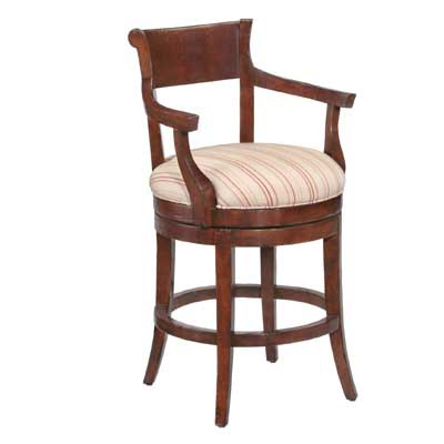 14624/U Veranda Upholsterd Seat Barstool (Counter Height)