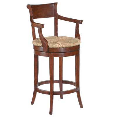 14630 Veranda Rush Seat Barstool (Bar Height)