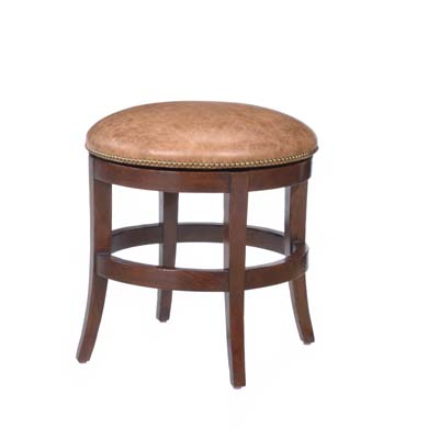 14640 Veranda Backless Upholstered Swivel Barstool (Counter Height)