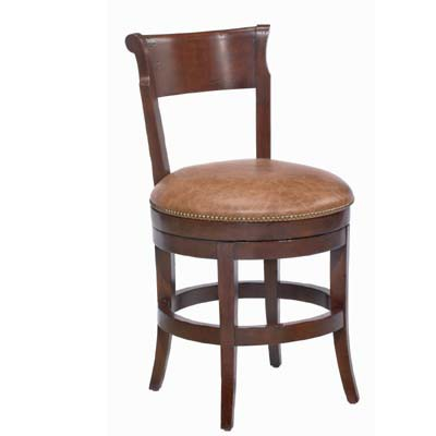 14650/U Veranda Upholstered Swivel Barstool (Counter Height)