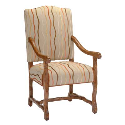 12941 Upholstered Arm Chair
