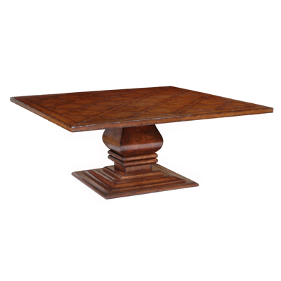 597272 Square Pedestal Table