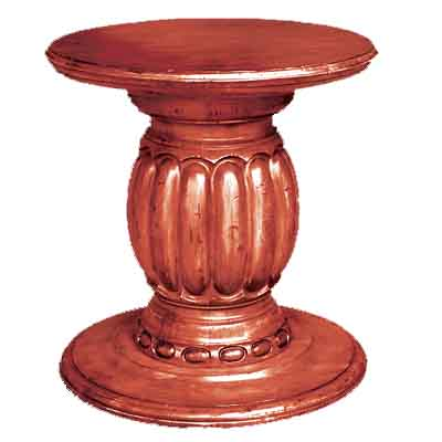 64000 Carved Pedestal – Base Only