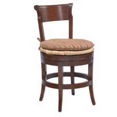 14650 Veranda Rush Seat Swivel Barstool (Counter Height)