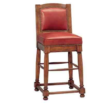 51739 Country English Bar Stool (Counter Height)
