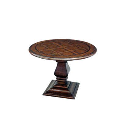 59360 Pedestal End Table