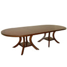 90120 Veranda Oval Double Pedestal Dining Table