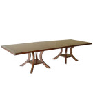 90132 Veranda Double Pedestal Rectangular Dining Table