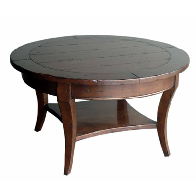 Custom Round Cocktail Table