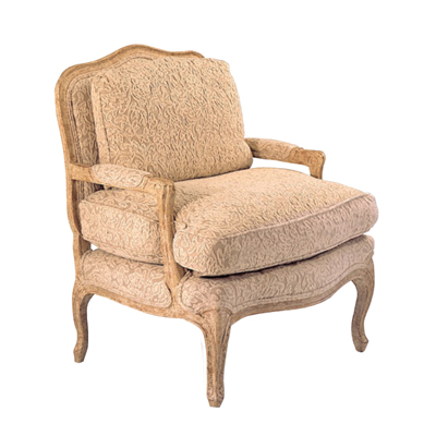 42731 Open Arm Bergere Chair