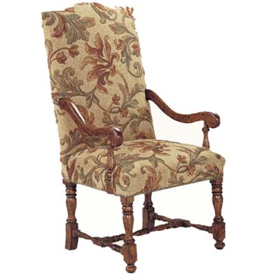 14001 English Upholstered Arm Chair