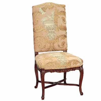 14200 Carved Upholstered Side Chair