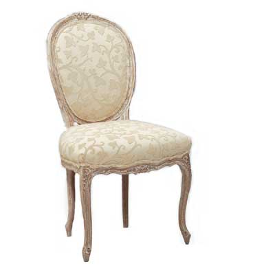 41818 Carved Cameo Side Chair