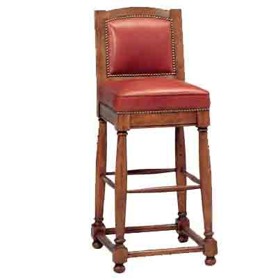 51745 Country English Barstool (Bar Height)