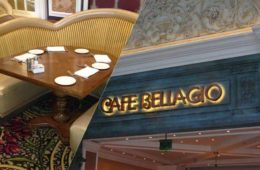 Café Bellagio Banquette