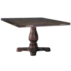 193354 Square to Round Pedestal Table