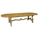 Custom Montecito Oval Dining Table