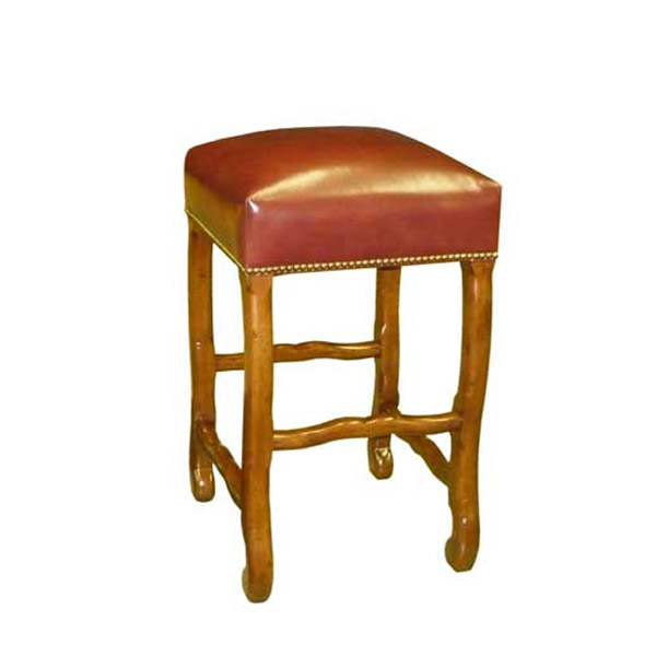 Custom Backless Barstool