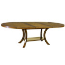 Custom Veranda Oval Dining Table with Center Extention