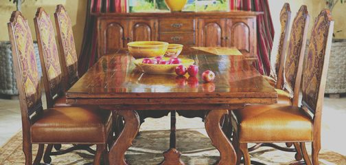 Montecito Draw Top Dining Table