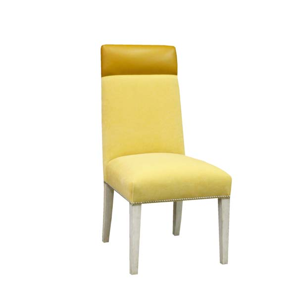 15220-C Tapered Back Channeled Side Chair
