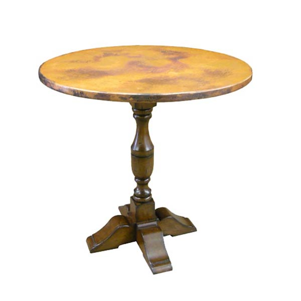 54042 Bistro Table with Copper Top