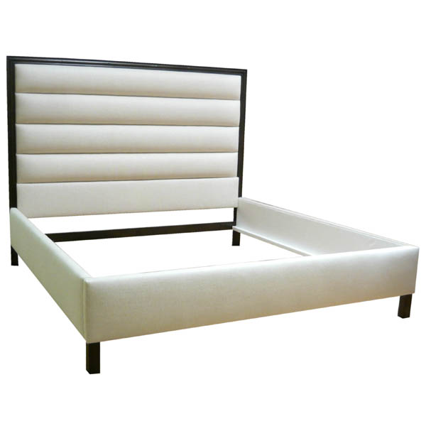 182094-E King Bed with Horizontal Panel – Tufting