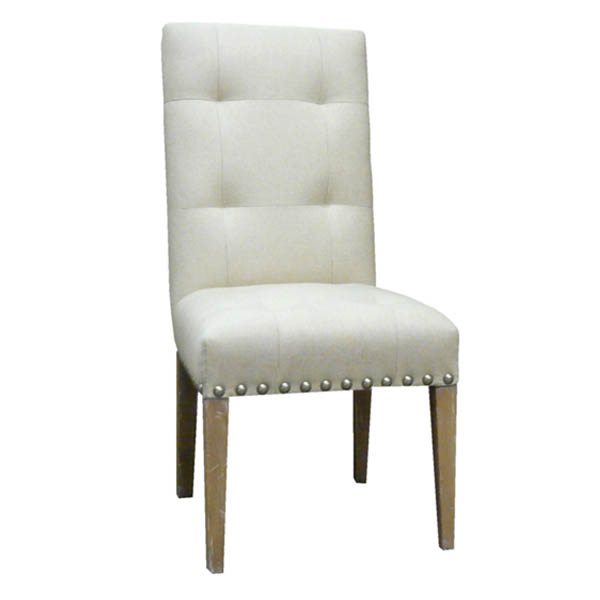 #15210 Tufted Back Side Chair
