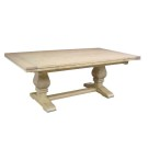 190184 DT Trestle Dining Table