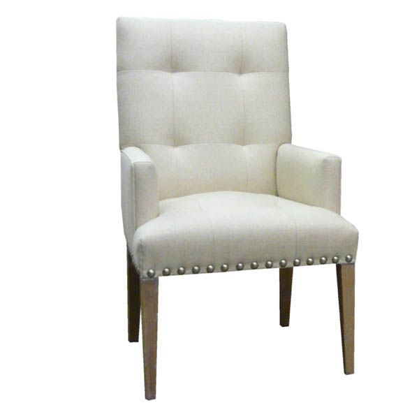 #15211 Tufted Back Arm Chair
