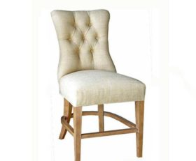 15124 Tufted Barstool (Counter Height)