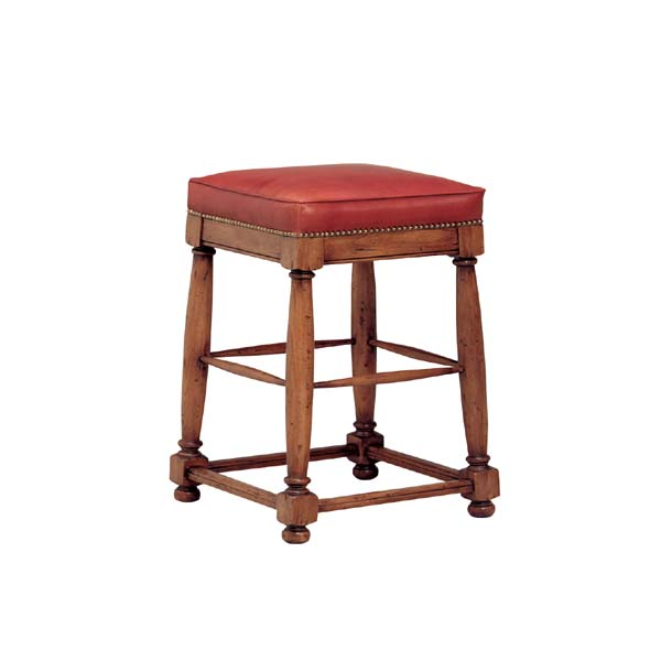 51724 Country English Backless Barstool (Counter Height)
