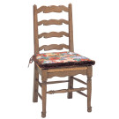 51919 Country English Rush Seat Side Chair