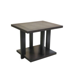 392430 Moderne End Table + Leather Insert